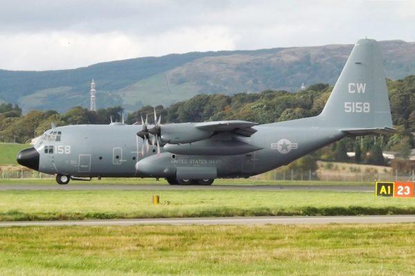 Lockheed C-130T Hercules.