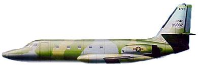 Profil couleur du Lockheed C-140 Jetstar