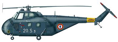 Profil couleur du Sikorsky H-19 Chickasaw