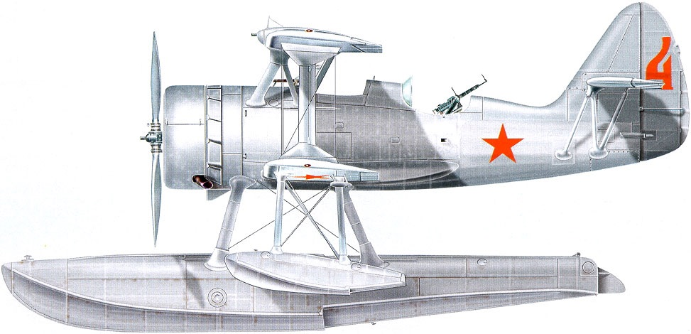 Profil couleur du Beriev KOR-1
