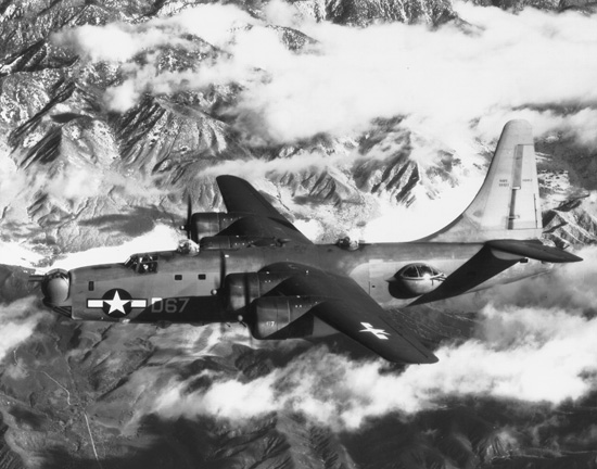 Consolidated PB4Y-2 Privateer.