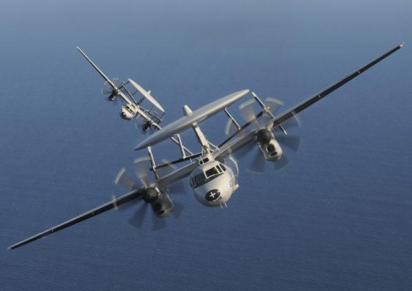 Grumman E-2C Hawkeye.