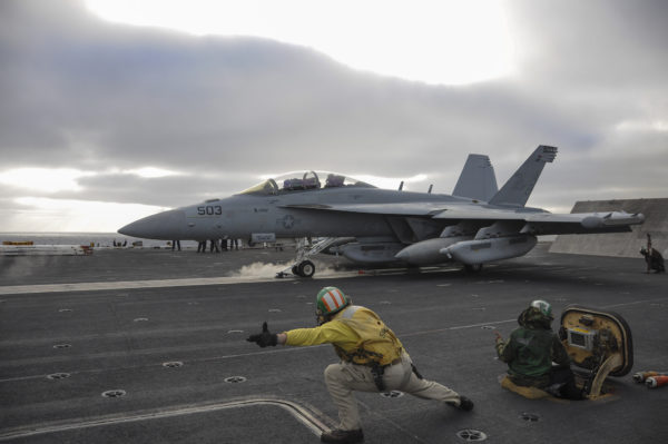 Boeing EA-18G Growler.