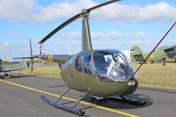 Robinson R44A.