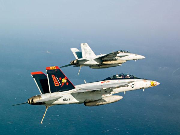 Boeing F/A-18F Super Hornet.