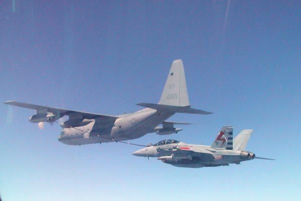 Lockheed KC-130F Hercules.