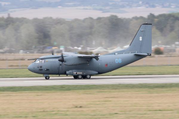 Alenia C-27J Spartan.