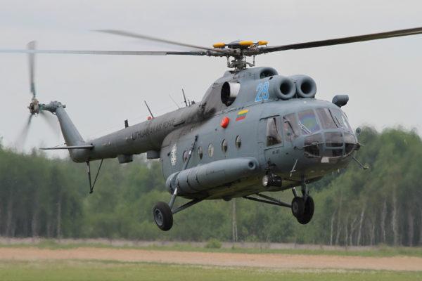 Mil Mi-8T.
