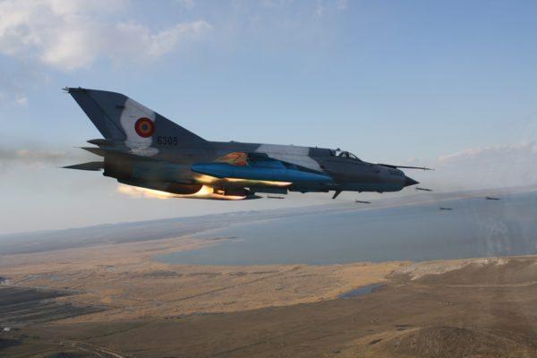 Mikoyan-Gurevitch MiG-21 Lancer.