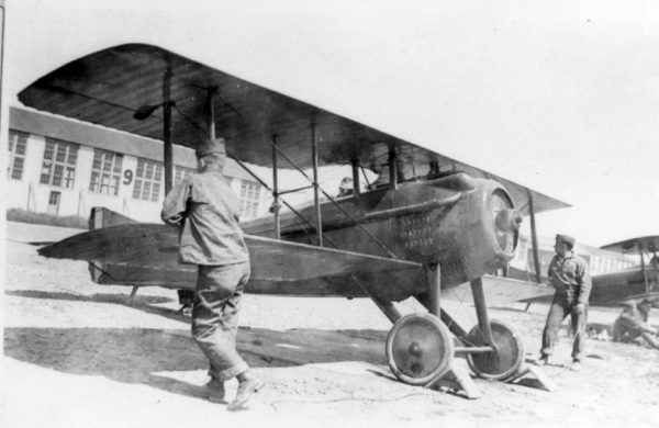 Chasseur monoplace SPAD VII.