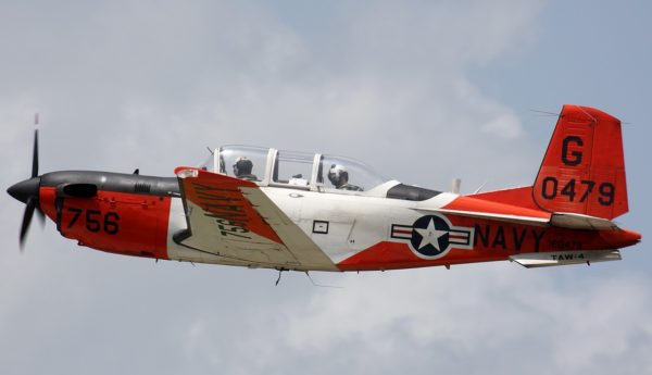 Beechcraft T-34C Turbo Mentor.