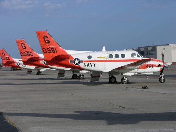 Beechcraft T-44C Pegasus.