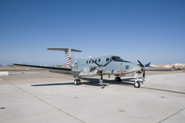 Beechcraft UC-12D Huron.