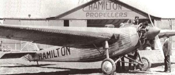 general mitchell airport Hamilton H-18 1