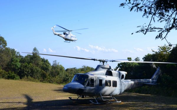 Bell 412HP.