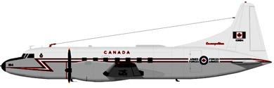 Profil couleur du Canadair CC-109 Cosmopolitan