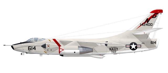 Profil couleur du Douglas KA-3 / EKA-3 Skywarrior