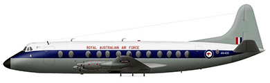 Profil couleur du Vickers VC2 Viscount