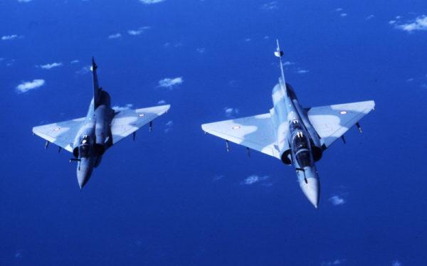 Dassault Mirage 2000C & Mirage 2000B.