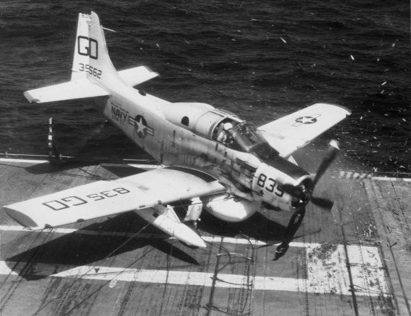 Douglas EA-1 Skyraider.