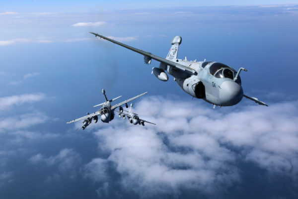 L'EA-6B Prowler, un avion d'arme qu'il ne faut pas sous-estimer.