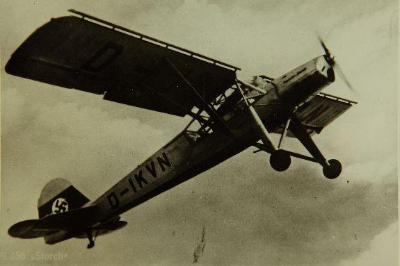 Le prototype Fieseler Fi 156 V1.
