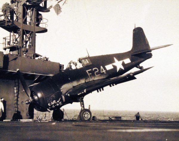 Grumman F6F Hellcat.