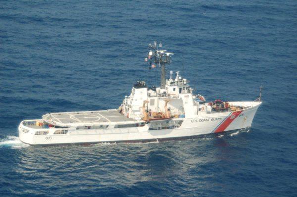 Le cotre USCGC Valiant.