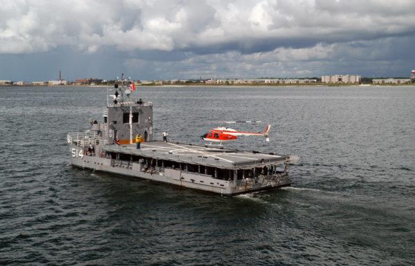 L'IX-514 Bay Lander en opérations.