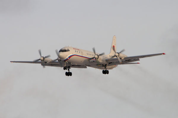 Ilyushin Il-18.FAé Russe