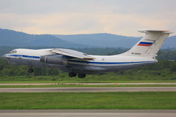 Ilyushin Il-76.FAé Russe