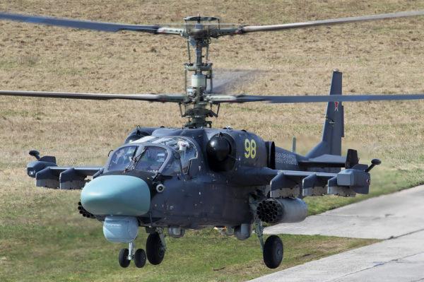 Kamov Ka-52.FAé Russe