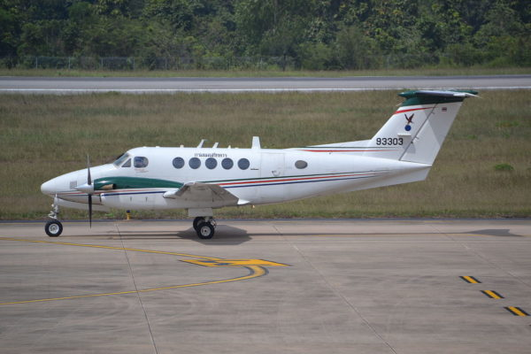 King Air 90-RTAF_Wikimédia