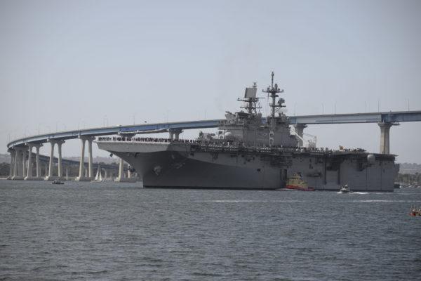 L'USS America (LHA-6), premier de sa classe.