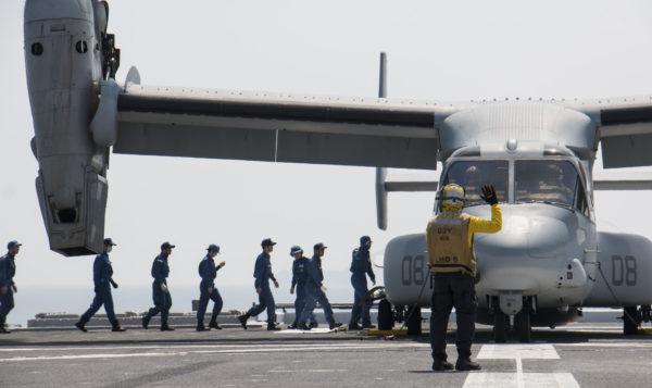 MV-22B Kumamoto apponté_USMC
