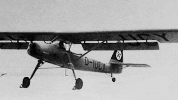 Le Messerschmitt Bf 163 V1.