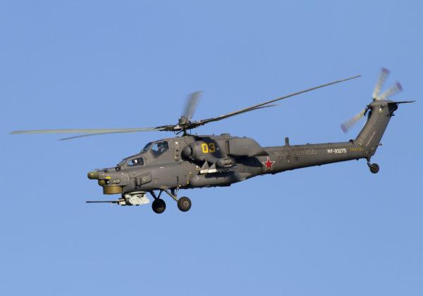 Mil Mi-28. FAé Russe
