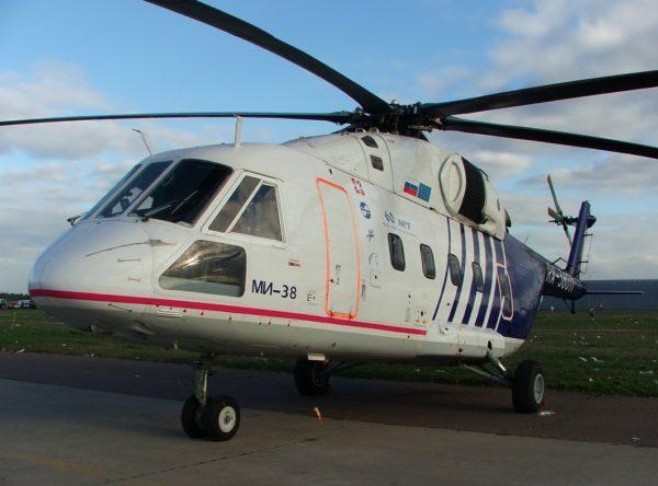 Mil Mi-38.FAé Russe