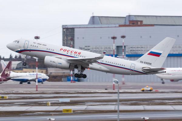 Tupolev Tu-204.FAé Russe