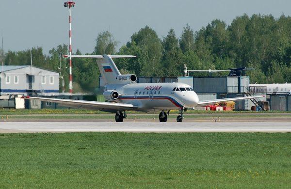 Yakovlev Yak-40.FAé Russe