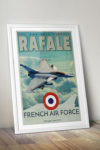 poster-affiche-dassault-rafale-armee-air-mockup