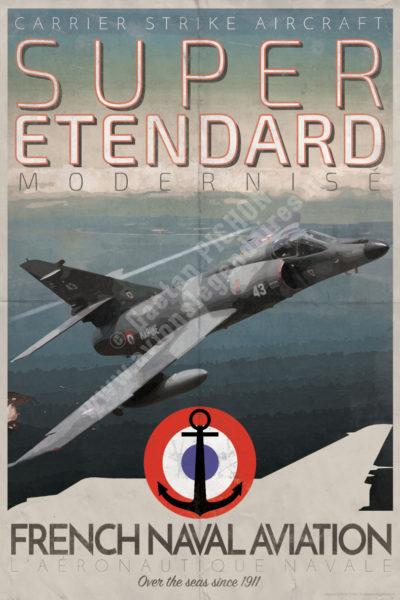 poster-affiche-super-etendard-marine-copyright-Pichon