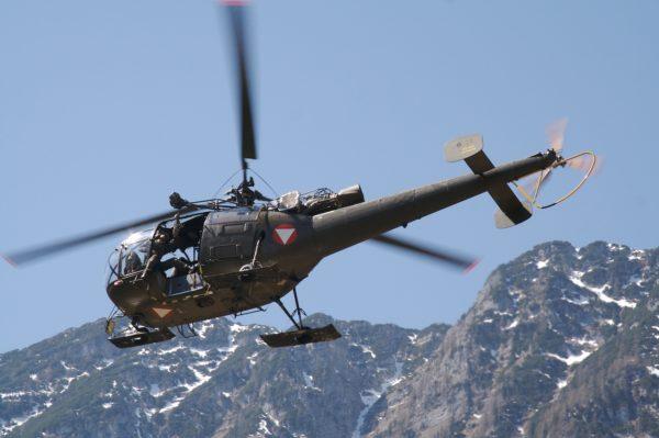 Aérospatiale SA-316B Alouette III.FAé Autriche_Wikimédia