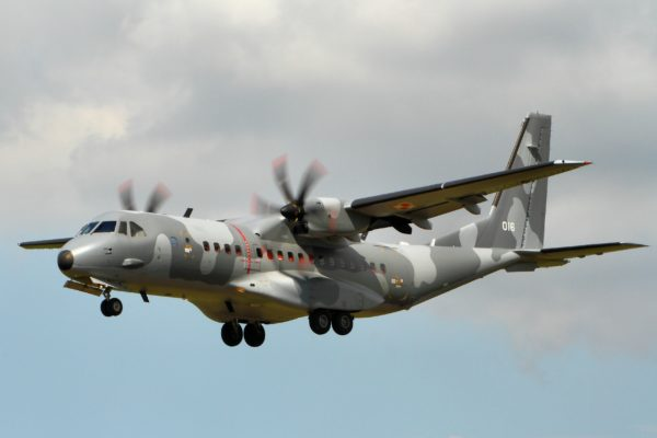 Airbus Defense & Space C-295M-Pologne AF_Wikimédia