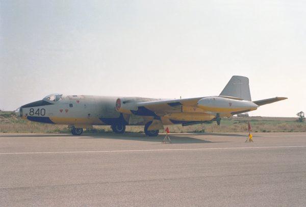 English Electric TT Mk-18 de la FRADU.