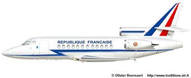 Profil couleur du Dassault Aviation Falcon 900