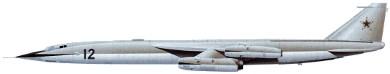 Profil couleur du Myasishchev M-50 'Bounder'