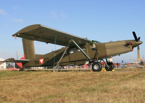 Pilatus PC-6B Turbo Porter.FAé Autriche_Wikimédia