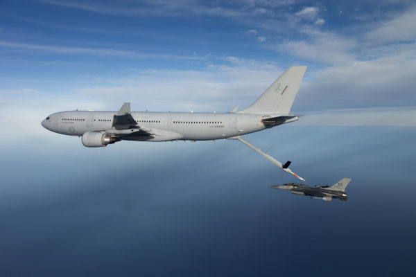Airbus Defense & Space KC-30A Voyager.