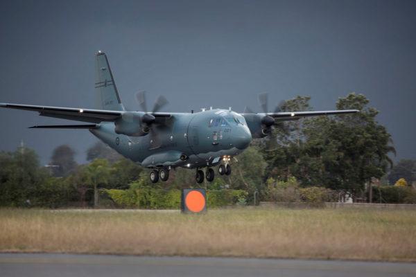 Alenia C-27J Spartan II.